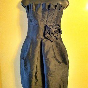 Alexia Admor New York Black Strapless Dress